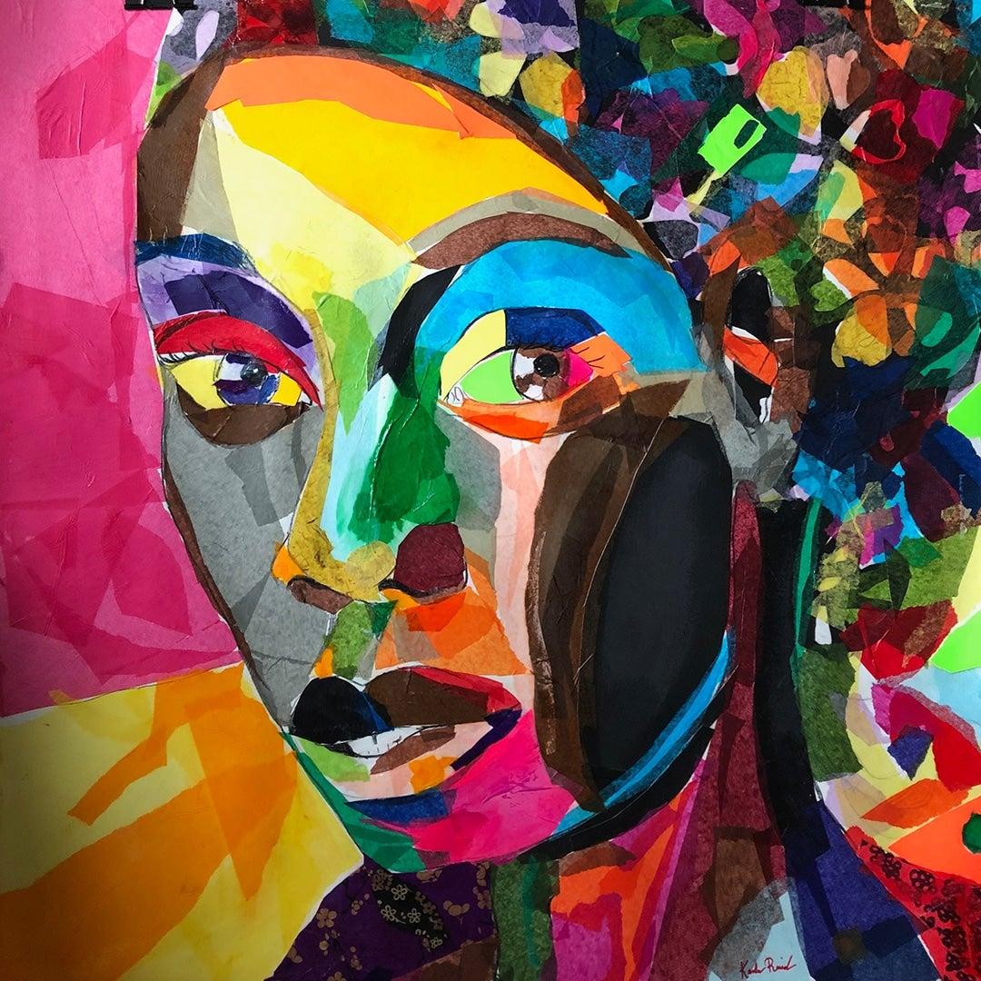 Painting by Karla Reid